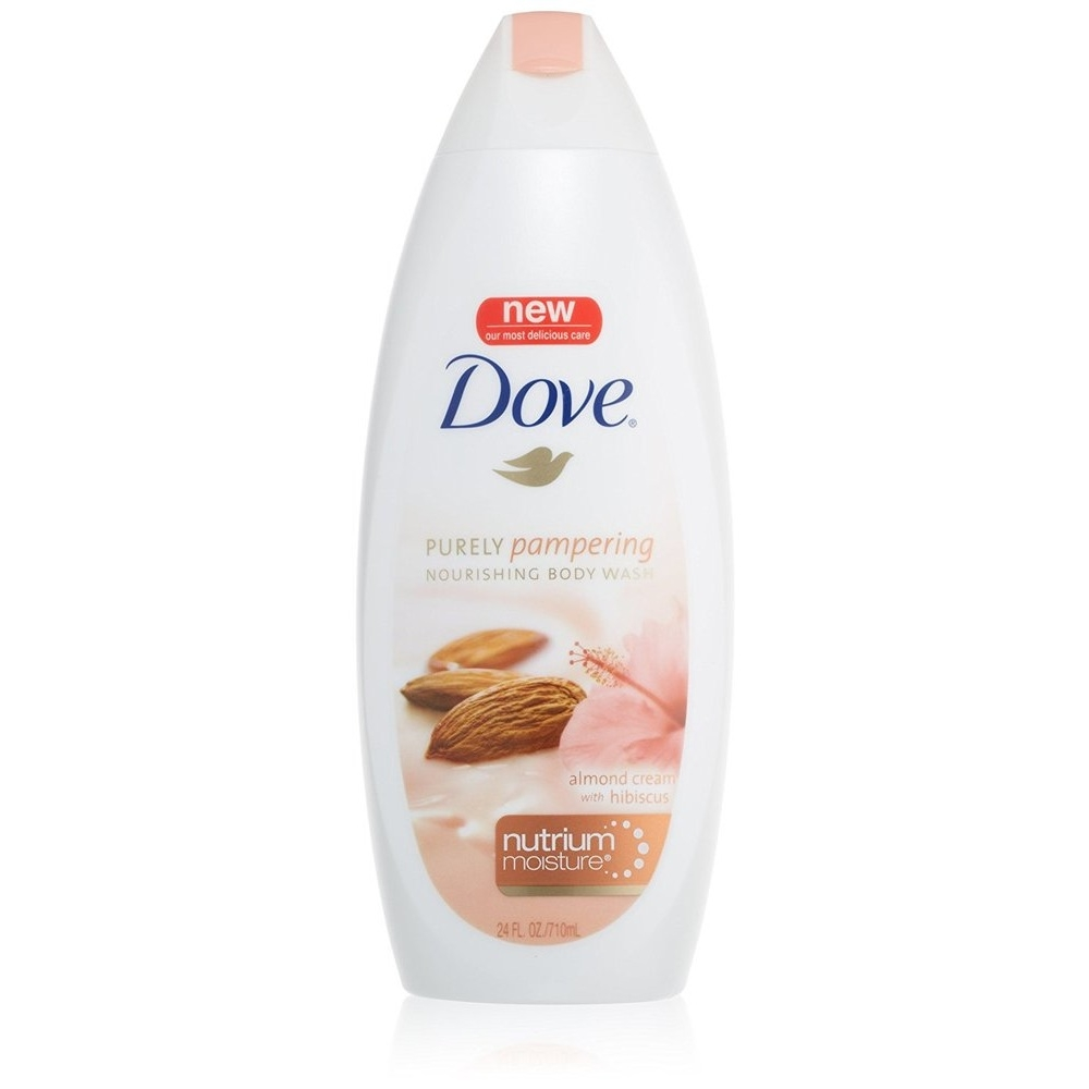 Dove Purely Pampering Nourishing Body Wash Almond Cream With Hibiscus Nutrium Moisture 24 Ounce Soapsplash Buy Discounted Brand Name Household Health And Beauty Products