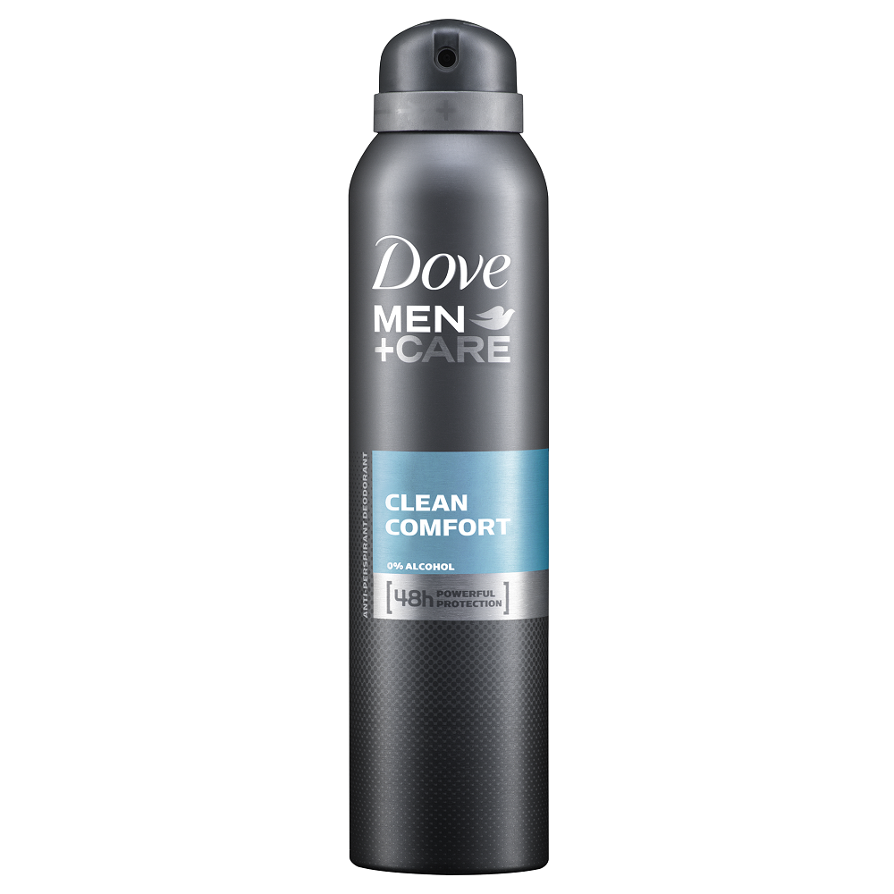 Dove Men Care 48 Hours Protection Antiperspirant Deodorant Body Spray Clean Comfort 150ml Soapsplash Buy Discounted Brand Name Household Health And Beauty Products
