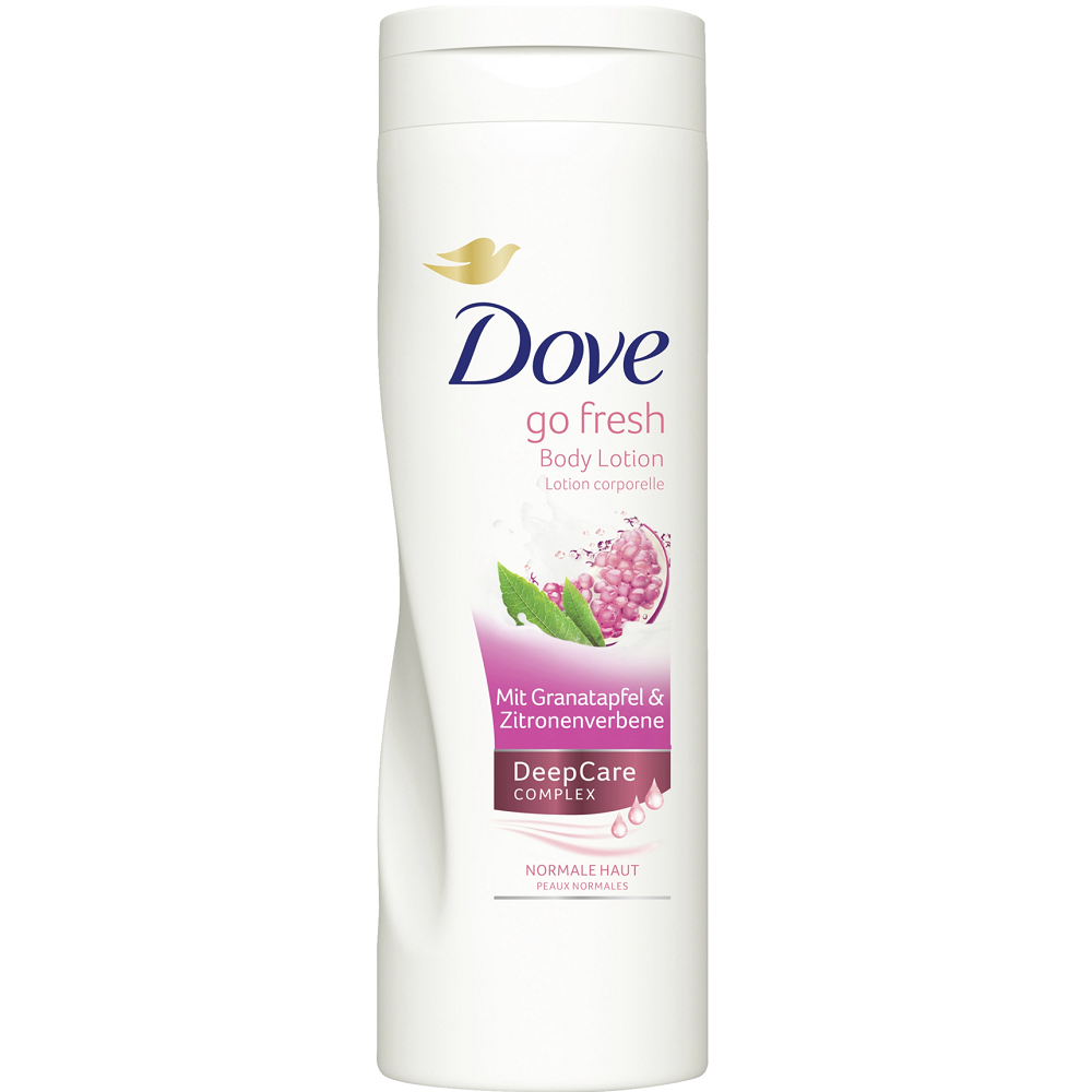 Dove Go Fresh Body Lotion Deep Care Complex Normal Skin Pomegranate And Lemon Verbena 400ml Soapsplash Buy Discounted Brand Name Household Health And Beauty Products