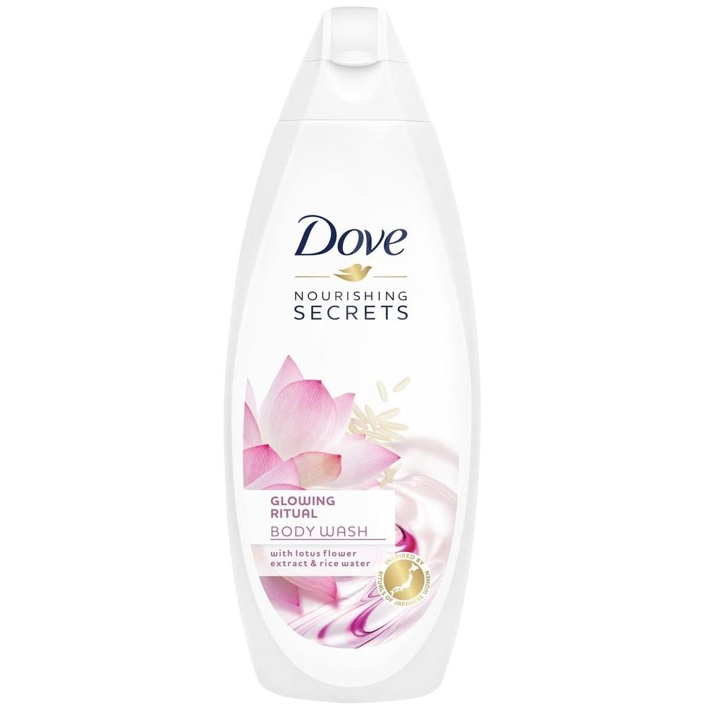 Dove Nourishing Secrets Glowing Ritual Body Wash With Lotus Flower