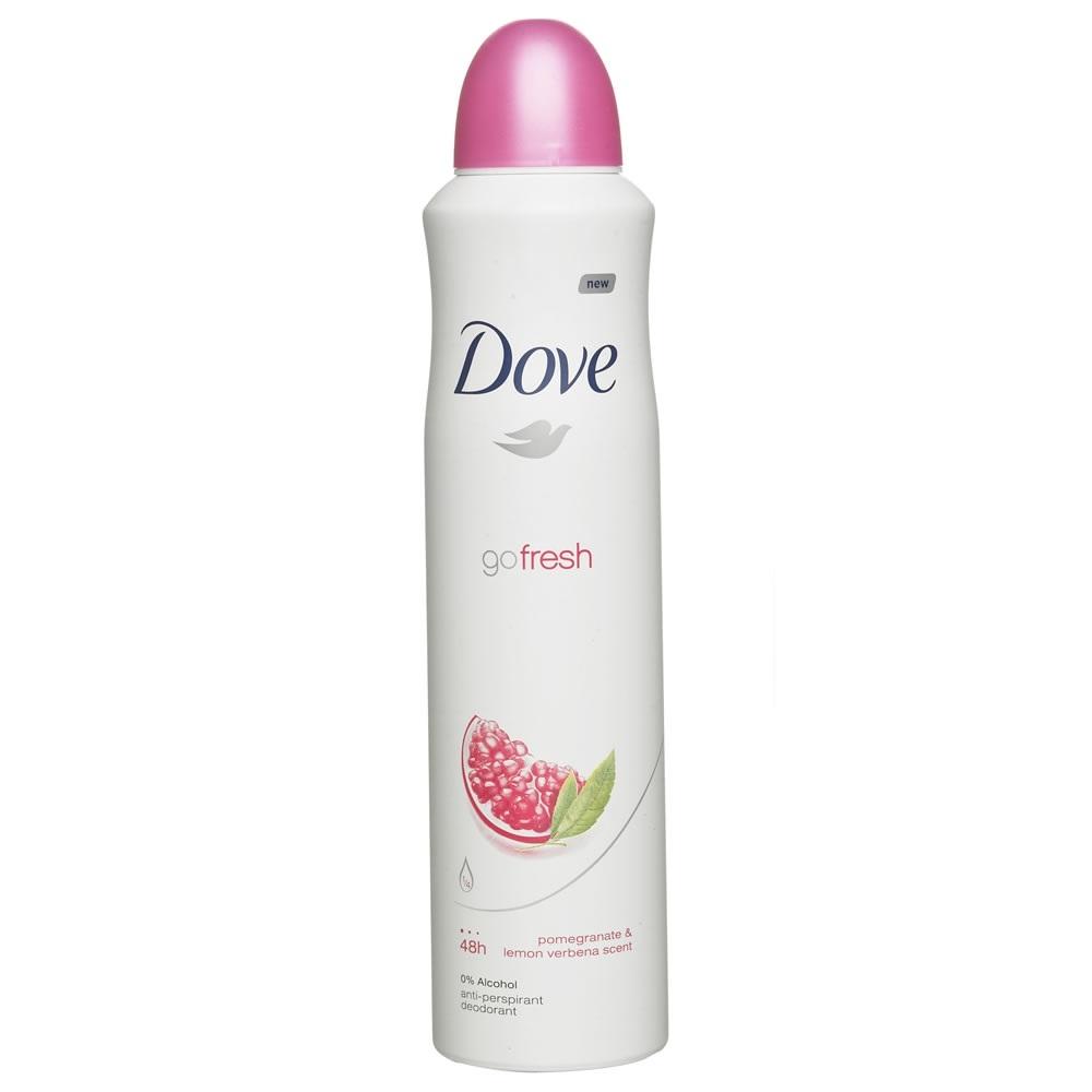 Dove Anti Perspirant Anti Transpirant Deodorant Body Spray Go Fresh Pomegranate And Lemon Verbena Soapsplash Buy Discounted Brand Name Household Health And Beauty Products