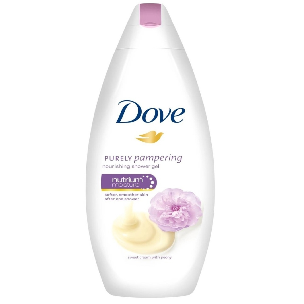 Dove Purely Pampering Nourishing Shower Gel Sweet Cream With Peony 500 Ml Soapsplash Buy Discounted Brand Name Household Health And Beauty Products