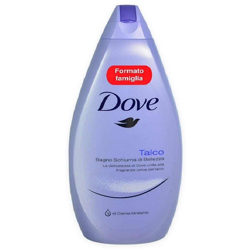 Dove Bagnoschiuma Shower Gel Bath Foam, Talco, 700 ML - SoapSplash ...