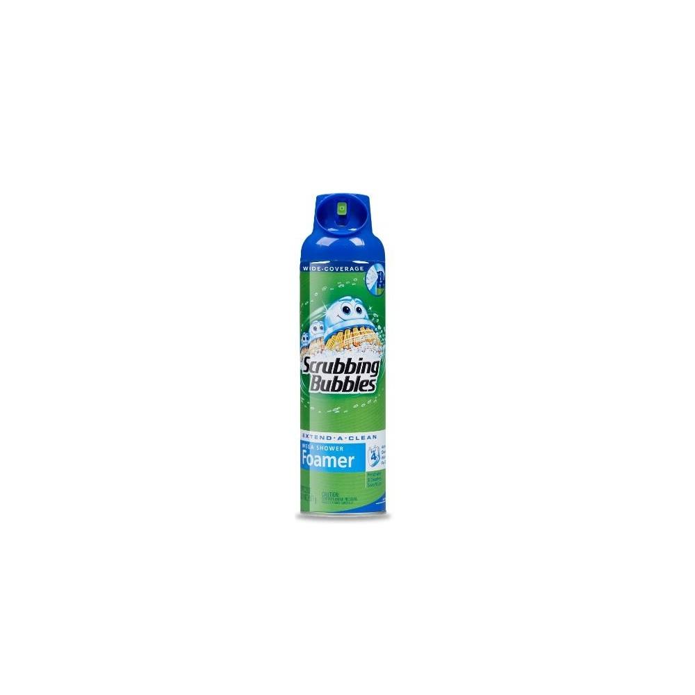 Scrubbing Bubbles Mega Shower Foamer, Aerosol Spray, 20 Ounce